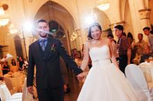 front wedding